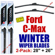 WINTER Wiper Blades 2-Pack Premium - fit 2013+ Ford C-Max CMAX - 35280/260