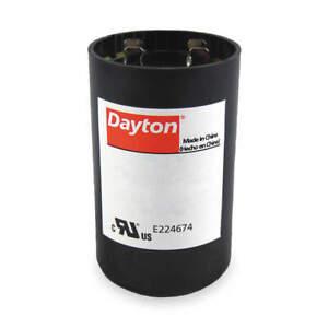 DAYTON 6FLV7 Motor Start Capacitor,105-126 MFD,Round