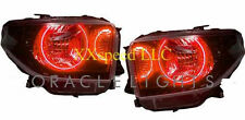 ORACLE Toyota Tundra 2014+ RED DUAL LED Headlight Halo Angel Demon Eyes Rings