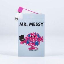 Mr Men Mr Messy Powerbank 2500mAh - OFFICIALLY LICENSED