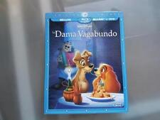 [Bluray + DVD] La Dama y el Vagabundo Edición Diamante con funda
