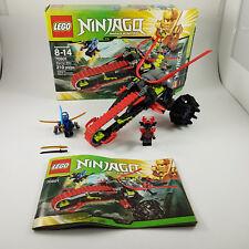 Lego Ninjago Warrior Bike 70501 Masters of Spinjitzu Discontinued Opened Box