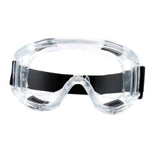Clear Plastic Safety Goggles Shockproof Driving Industrial Labor Glasses