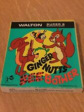 A Walton Film Black and White Silent Super 8 Ginger Nutts Bee Bother Home Movie