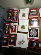 Lot of 13 Hallmark Keepsake Ornaments 1993-2006 Vintage Rare Collectable