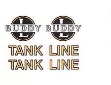 BUDDY-L TANKER LINE DECAL SET