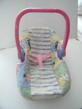 LISSI BABY CAR CARRY SEAT TO FIT BABY BORN/ANNABELL/CHOU DOLL