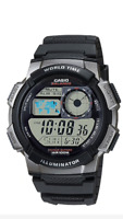 Casio  AE-1000-1B Sport Mens Digital Watch AE-1000  100M  AE1000