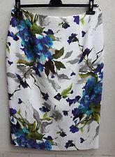 MARINA RINALDI by MAX MARA Flower Skirt, size MR 21, USA 12, I 50, D 42 NEW