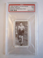 1938 HARRY MIZLER BOXING CHURCHMAN PSA GRADED 7 NEAR - MINT CARD