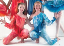 IN STOCK Spectacular Sparkle Ice Unitard with Frill Dance Costume 3 Adult Small