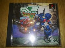 WOLF FANG PS1 PSX NTSC
