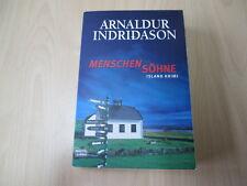 Arnaldur Indridason - MENSCHENSÖHNE - Island Krimi - TB - Bastei - (15936)