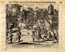 Antique Print-KORTRIJK-COURTRAI-BELGIUM-Baudartius-1616