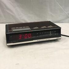 Vintage Cosmo CR 2001A  AM/FM Digital Alarm Clock Radio