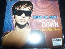 Keri Hilson Knock You Down Feat Kanye West & Ne-yo Aust CD Single – Like New