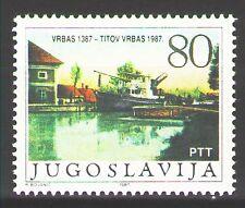 Yugoslavia1987 Sc1867   Mi2245  1v  mnh  City of Titov Vrbas, 600th anniv.