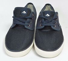 Emerica WINO CRUISER Mens Cotton Mesh Skate Shoes Size 9 US Navy NEW