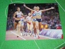 Jessica Ennis Signed Olympic London 2012 Heptathlon Gold Medal Winner Photograph