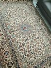 EXCEPTIONAL FINE SIGNED PERSHIAN RUG SILK FOUNDATION AND HIGHLIGHTS 10 X 7'