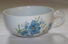 E-4776 INARCO Large CUP - BLUE ASTER Flowers - Floral 16oz