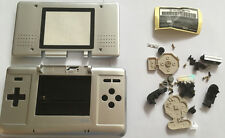 Austausch Ersatz Komplett Gehäuse für Nintendo DS / NDS Silber