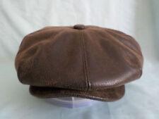 Chapeaux gavroches en cuir pour homme
