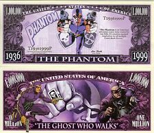 The Phantom The Ghost Who Walks Million Dollar Novelty Money
