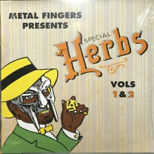 MF DOOM - Metal Fingers - Special Herbs Vols 1 & 2 - 2 LP Vinyl Album Sealed!