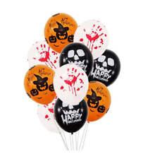 Halloween Party Balloons Happy Halloween Decorations Spooky Blood Pumpkin UK