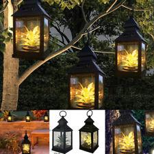 Waterproof Botany Solar Lantern Hanging Light LED Lamp Yard Garden Outdoor New
