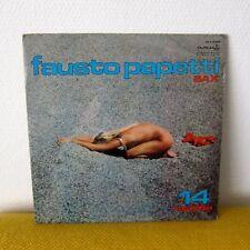 SEXY CHEESECAKE LP - Fausto Papetti - 14a raccolta