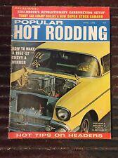 Apr 1968 Popular Pop Hot Rodding Federici Chadwick Jungle Jim Torino Snake Landy