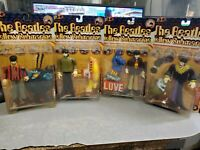Lot of 4 McFarlane The BEATLES Yellow Submarine Figures 1999 - SEALED