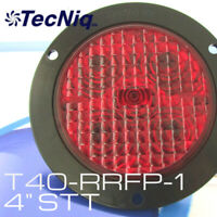 Truck Trailer RV Inc T40 4 Round Stop Turn Tail Light - Made in the USA Pair TecNiq LED Lights