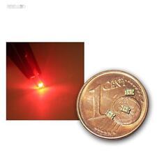 200 SMD Led 0805 Rosso, Rosso MINI SMDs SMT RED ROSSO PROFONDO Lok LED