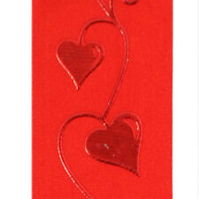 "3 Yds. Raffaela Embossed Heart Ribbon 1 1/2"" Wide"