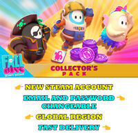 FALL GUYS COLLECTOR'S EDITION - Steam Account Global - Fast Delivery- FULL ACCES