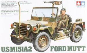 Tamiya 35123 1/35 Military Model Kit U.S Army M151A2 Ford Mutt 1/4 Ton Truck