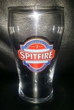 RARE COLLECTABLE SPITFIRE PREMIUM KENTISH ALE 570ML PINT BEER GLASS BRAND NEW