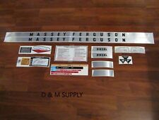 Massey Ferguson 165 tractor decal set stickers kit gas or diesel 1215-1022