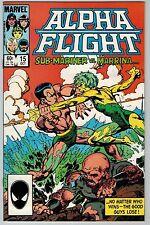 Alpha Flight #15 Oct 1984, Marvel (C5929) Sub-Mariner vs. Marrina John Byrne Art