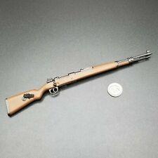 """1:6 Ultimate Soldier WWII German K98 Rifle 12"""" GI Joe Dragon BBI DiD WW2"""