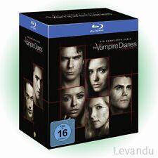 Blu-ray Box THE VAMPIRE DIARIES - DIE KOMPLETTE SERIE (Staffel 1-8) - 33 Disc's