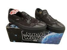 Black Vans Star Wars Darth Vader Slip On Shoe Trainer Skatebo Shoe  Size 5 Film