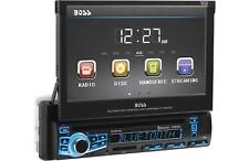 "Boss BV860B Single-DIN Car DVD Player 7"" Motorized Touchscreen Bluetooth Stereo"