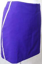 "New Adidas womens side zip Golf Skort Sz 8 PURPLE 18"" nwot"