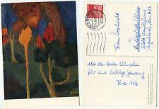 02049 - Emil Nolde: Der große Gärtner - Ansichtskarte, gelaufen 26.3.1969