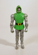 "Vintage 1980 Dr Doctor Doom 4.75"" Toy Biz Action Figure Marvel Fantastic 4 Four"