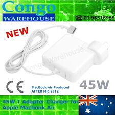 "45W T Tip Adapter Charger Power for Apple Macbook Air 11"" 13"" A1436 A1465 A1466"